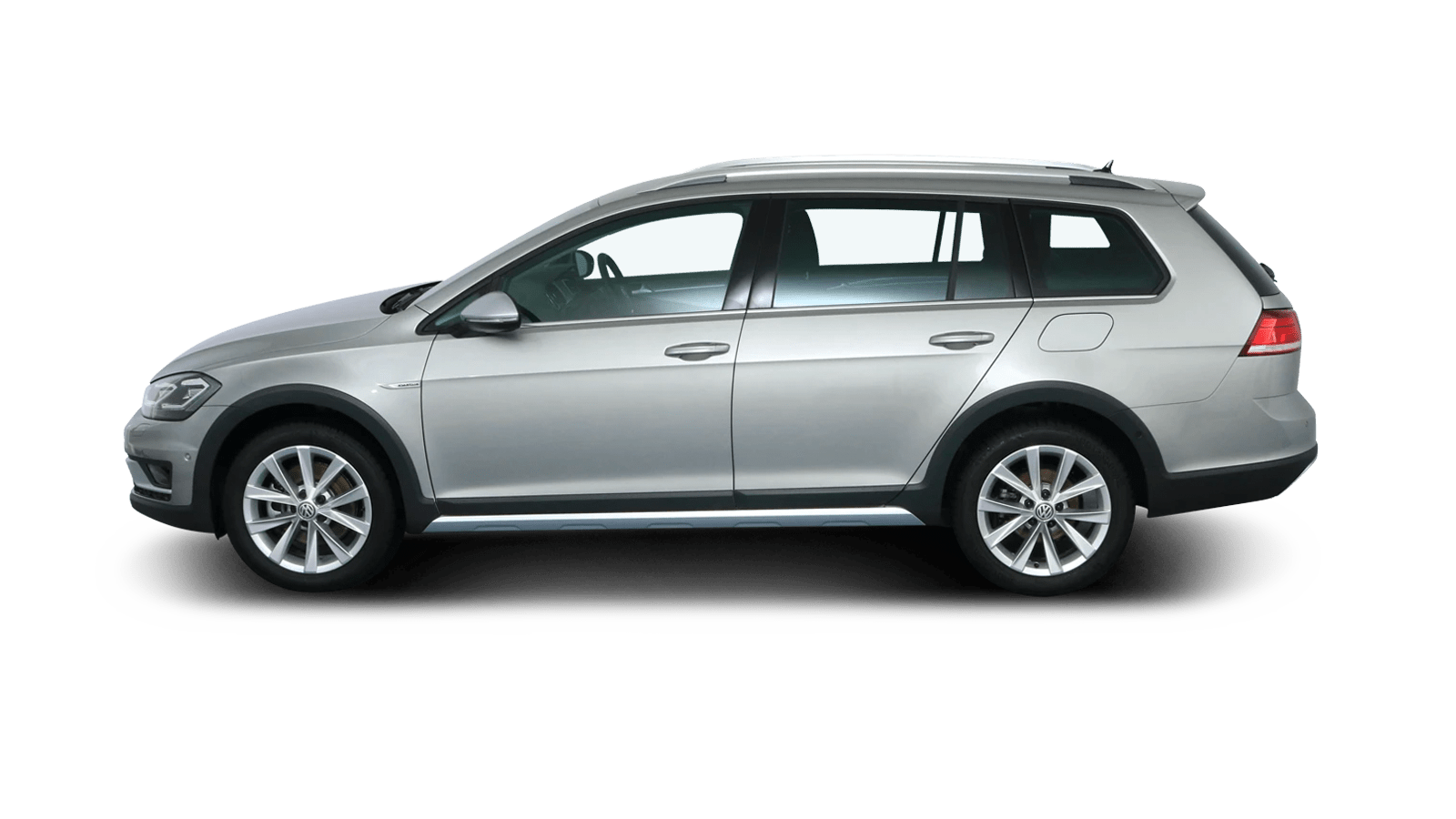 VW Golf Variant Alltrack Silver back - Clyde car subscription