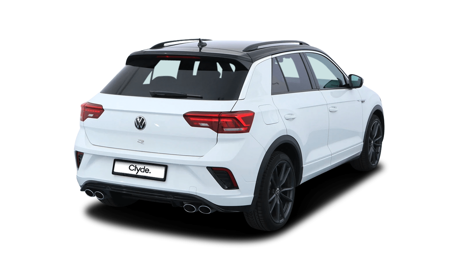 VW T-Roc R White front - Clyde car subscription