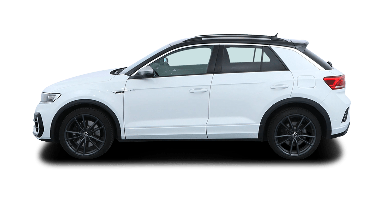 VW T-Roc R White back - Clyde car subscription