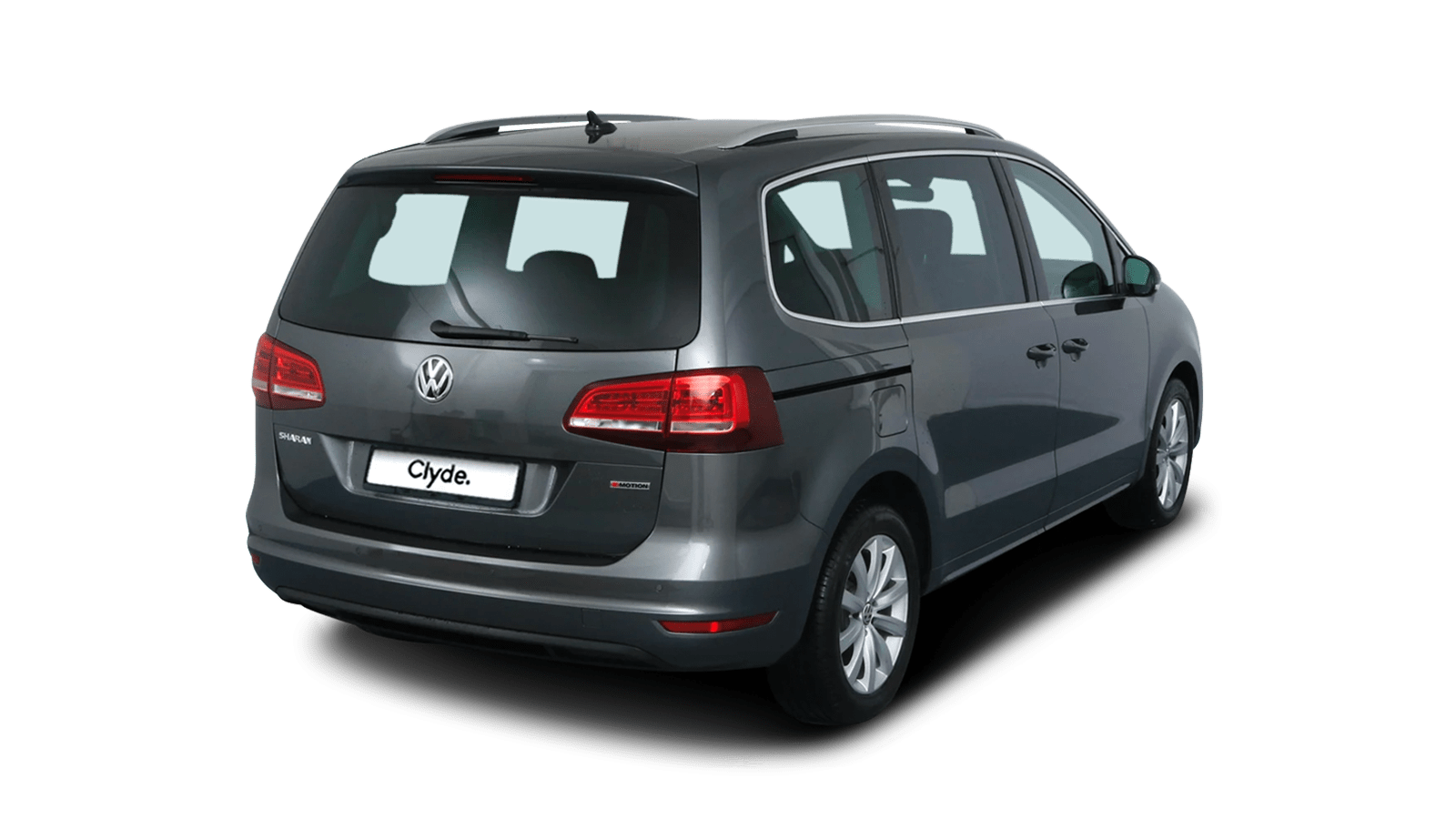 VW Sharan Grey front - Clyde car subscription