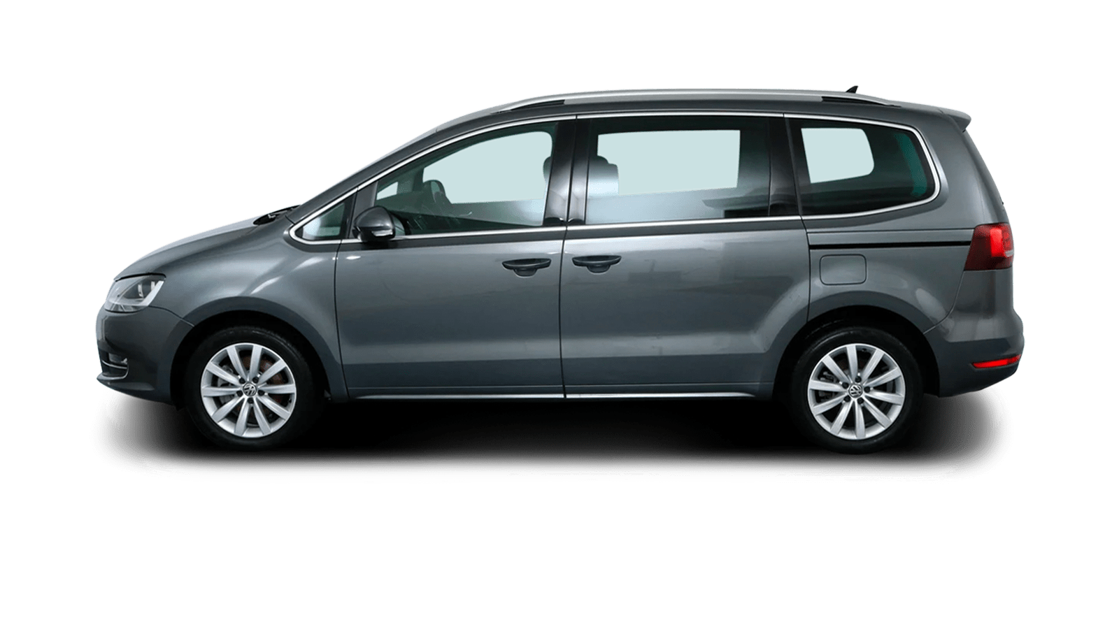 VW Sharan Grey back - Clyde car subscription