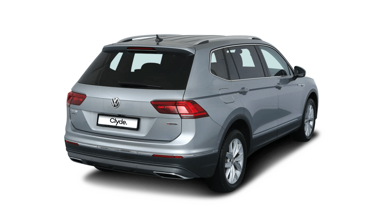 VW Tiguan Allspace Silver front - Clyde car subscription