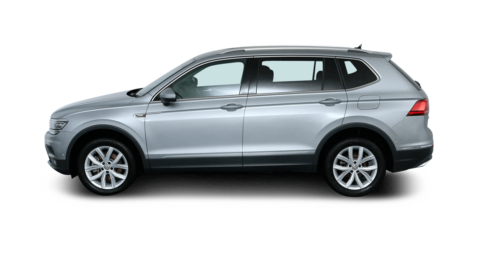 VW Tiguan Allspace Silver back - Clyde car subscription