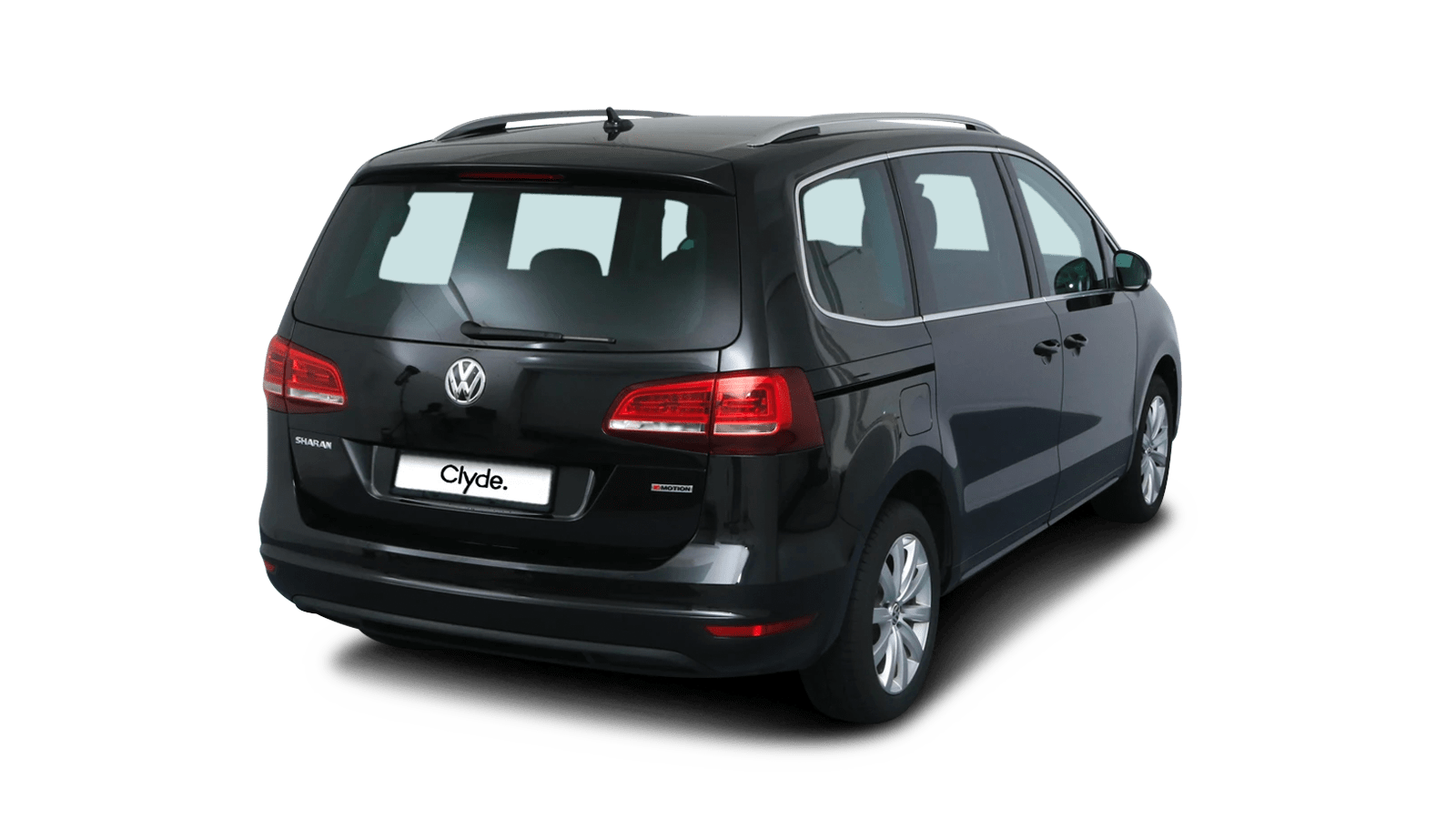 VW Sharan Black front - Clyde car subscription