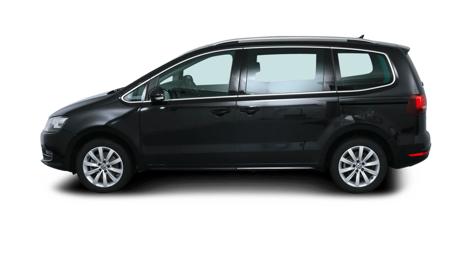 VW Sharan Black back - Clyde car subscription