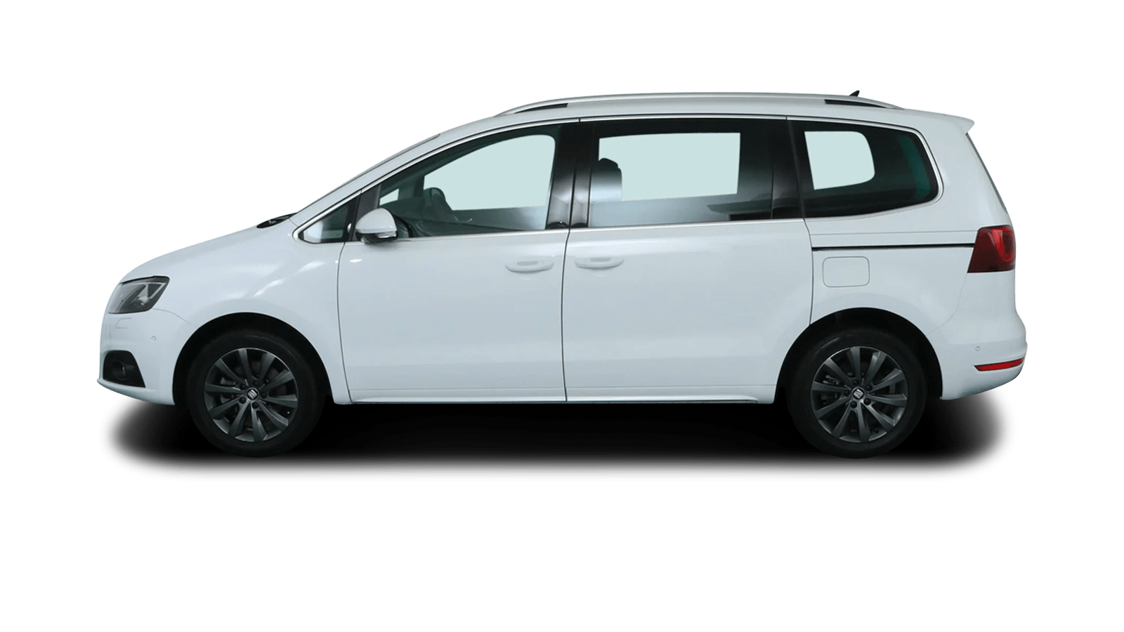 SEAT Alhambra White back - Clyde car subscription