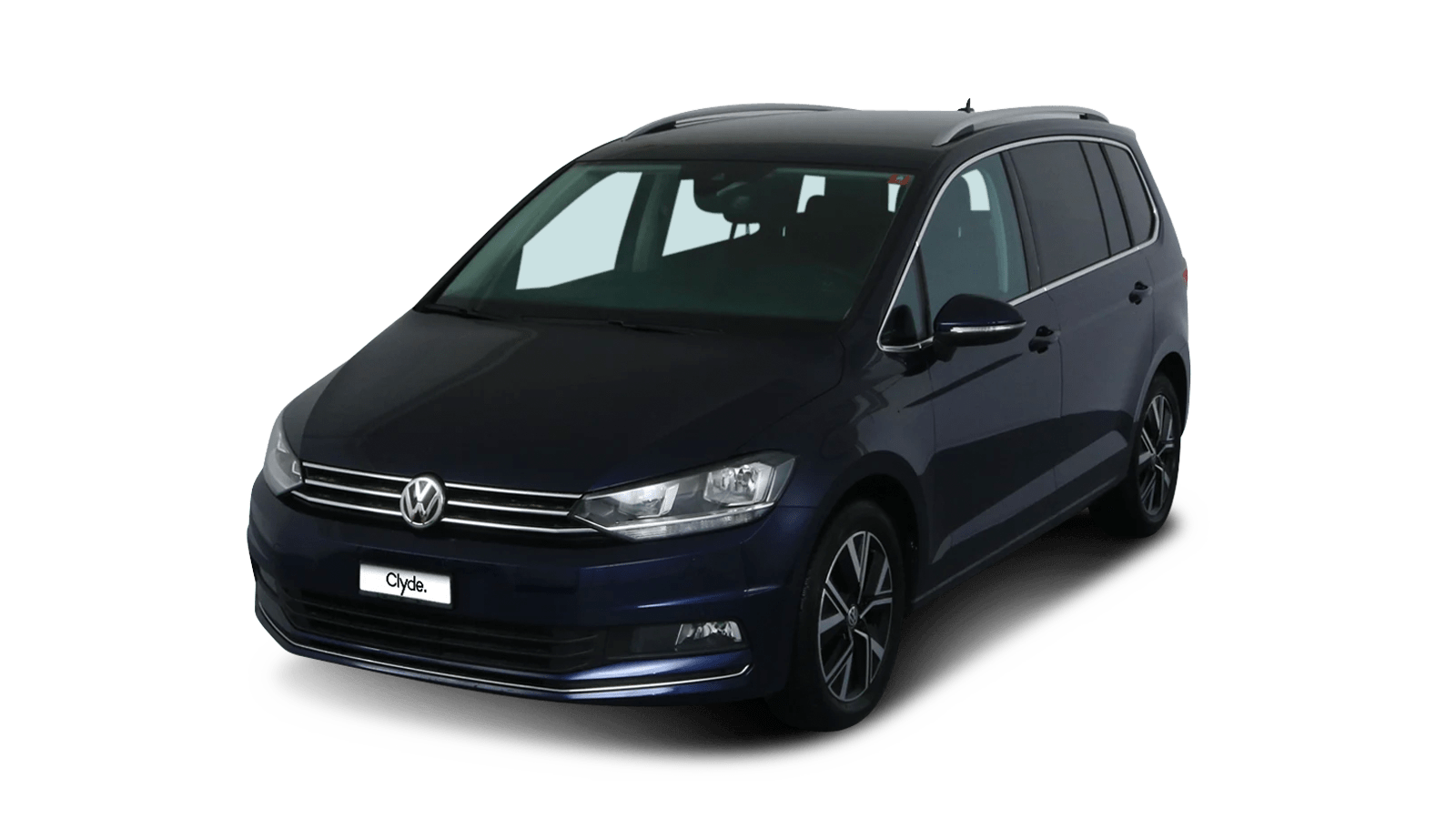 VW Touran Blue front - Clyde car subscription