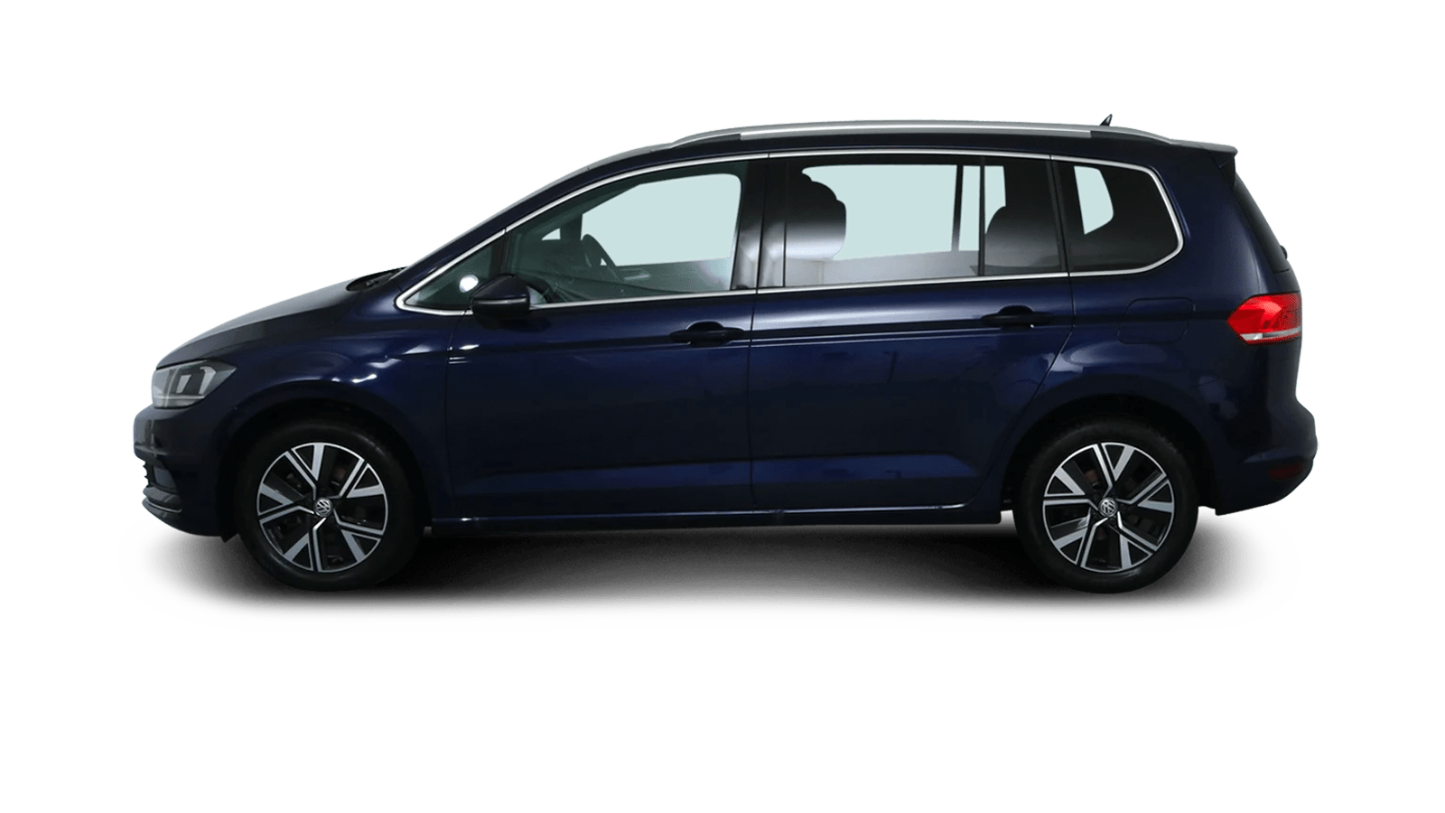VW Touran Blue back - Clyde car subscription