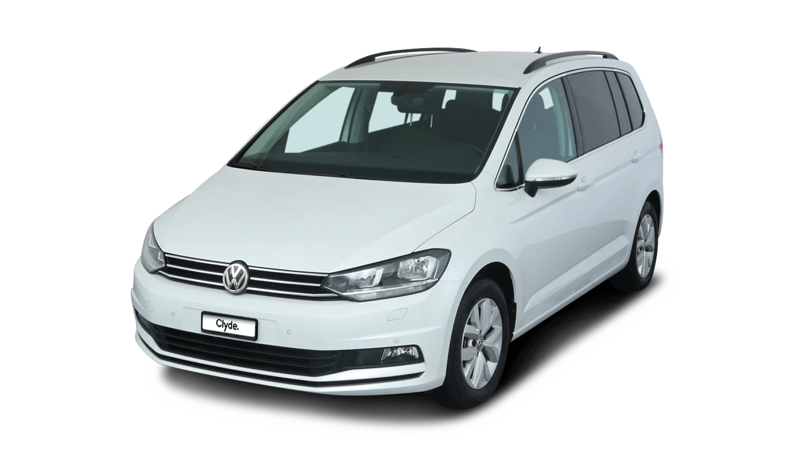 VW Touran White front - Clyde car subscription