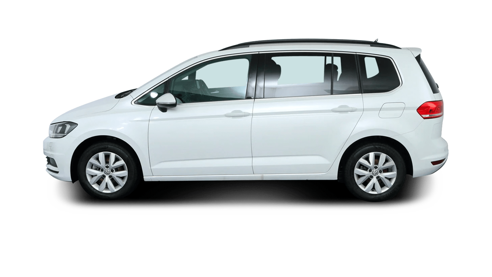 VW Touran White back - Clyde car subscription