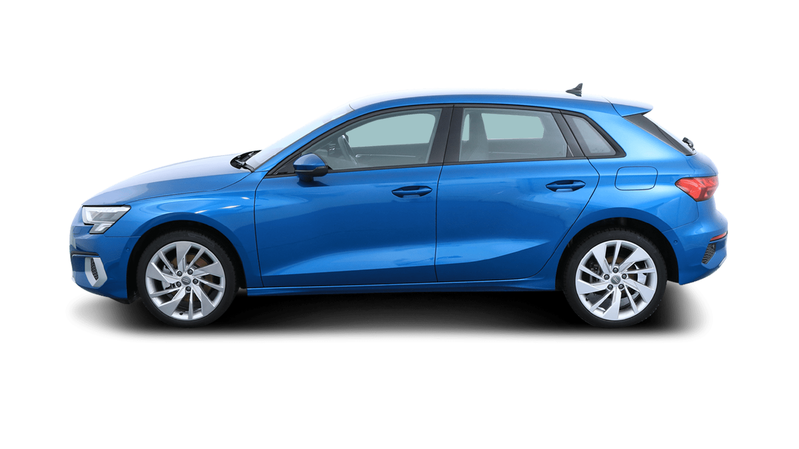 Audi A3 Sportback Blue back - Clyde car subscription