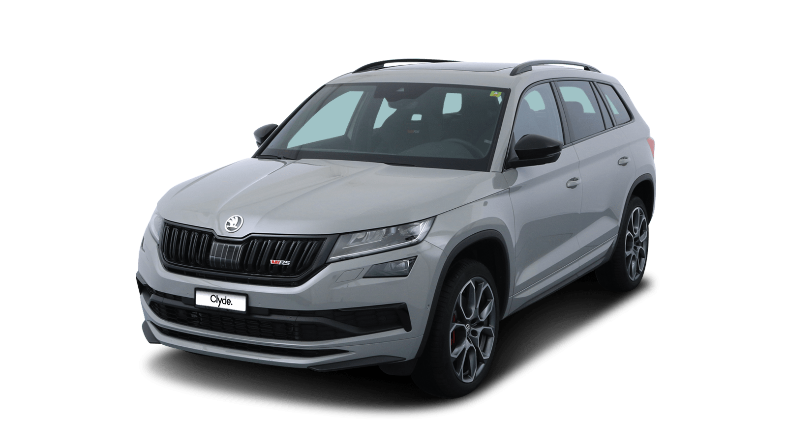 ŠKODA KODIAQ RS Grey front - Clyde car subscription