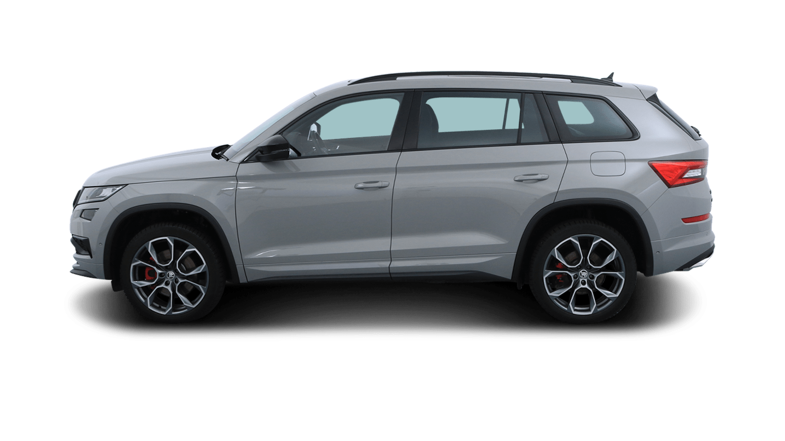 ŠKODA KODIAQ RS Grey back - Clyde car subscription