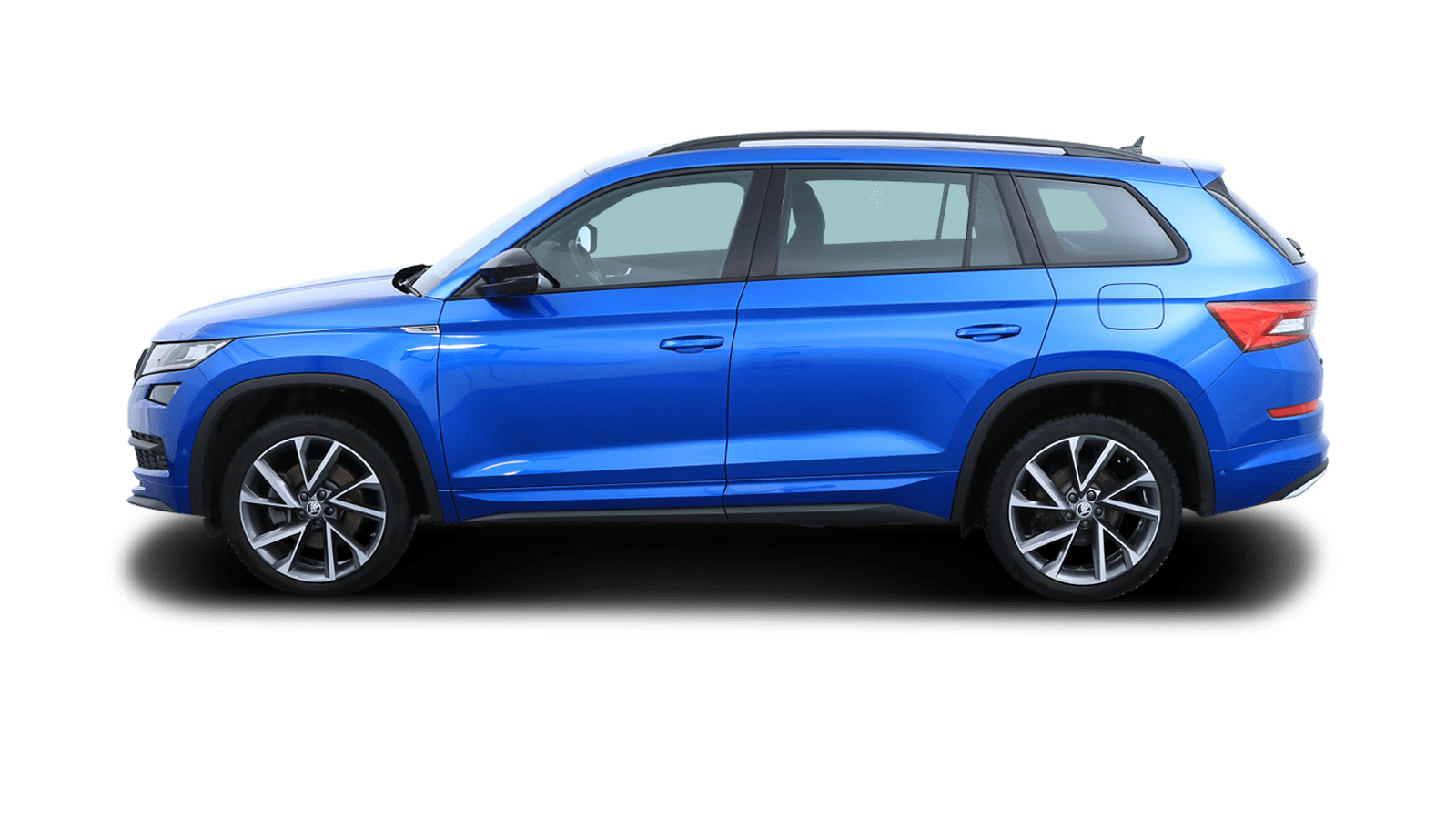 ŠKODA KODIAQ SPORTLINE Blue back - Clyde car subscription