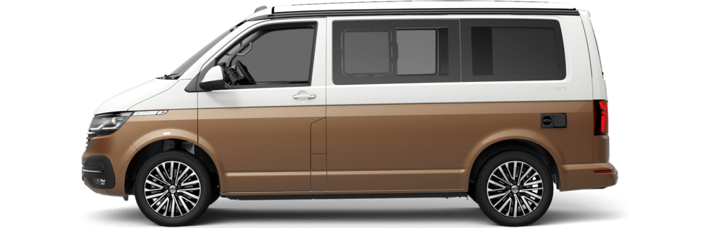 The VW T 6.1 and other vans in the car subscription from Clyde