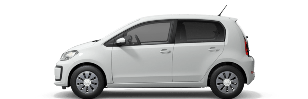 The VW Up and further small cars in the car subscription of Clyde