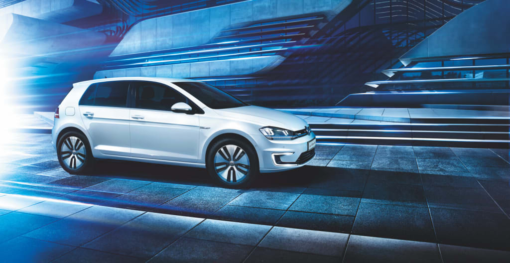 The VW eGolf with the car subscription from Clyde