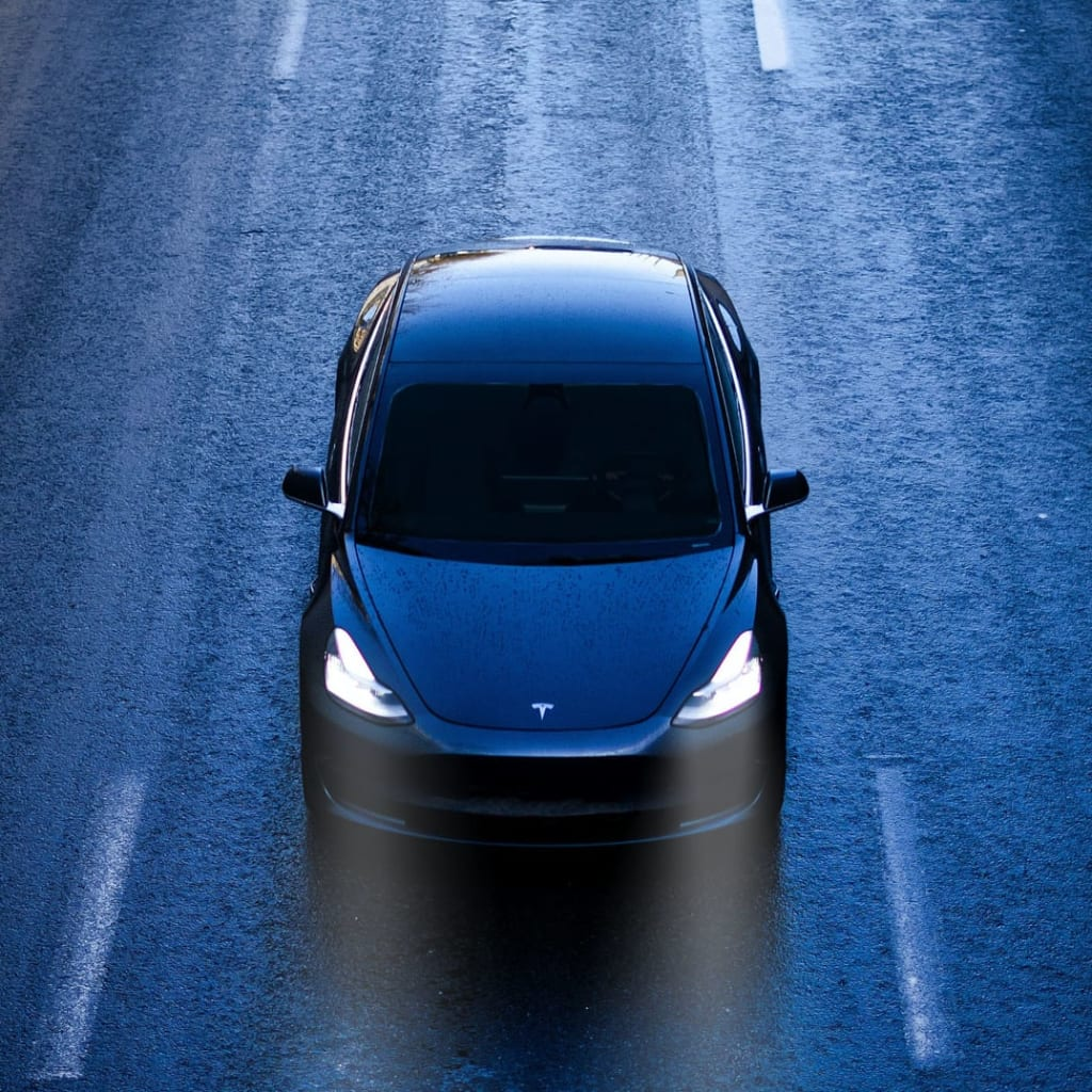 The Tesla Model 3 in the car subscription from Clyde