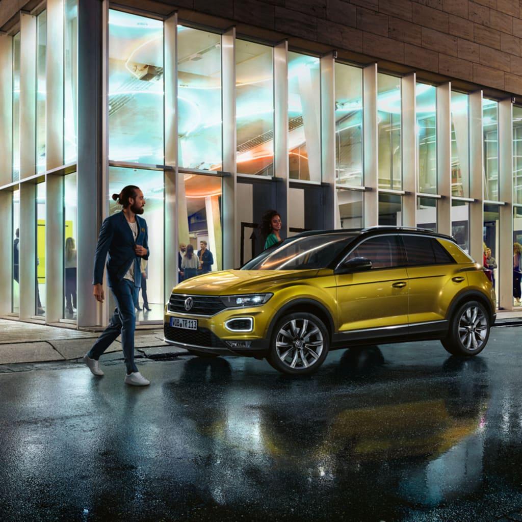 Der neue VW T-Roc im Auto Abo von Clyde