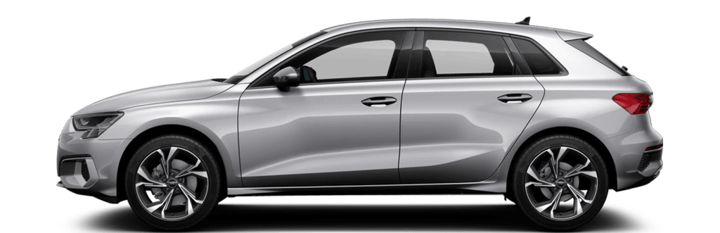 The Audi A3 g-tron and other hybrid cars in the car subscription from Clyde