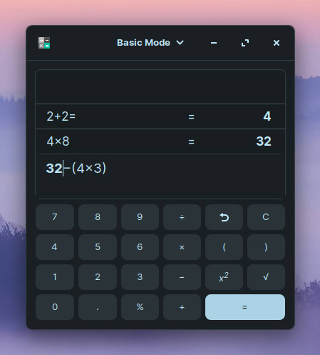 Zorin OS 15 Lite - Calculator