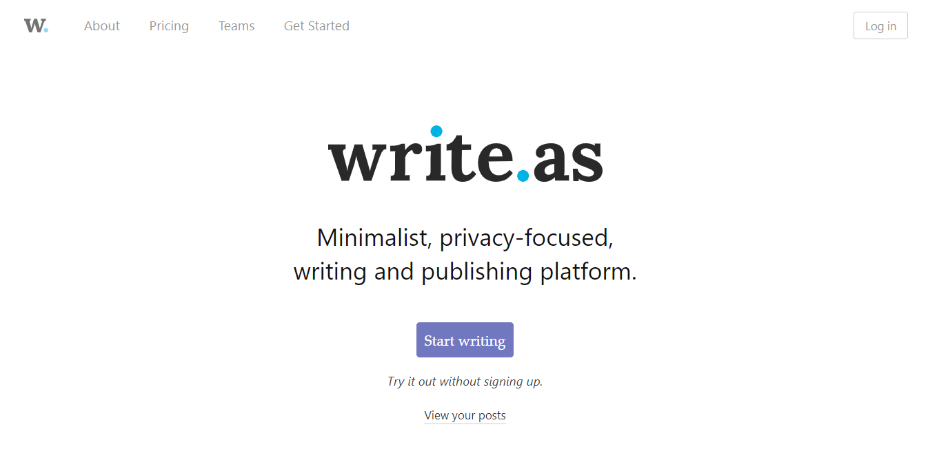 Write.as Review - No Frills, Ad-Free Publishing