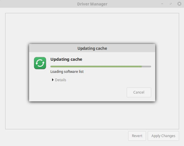 Linux Mint Review - Driver Manager