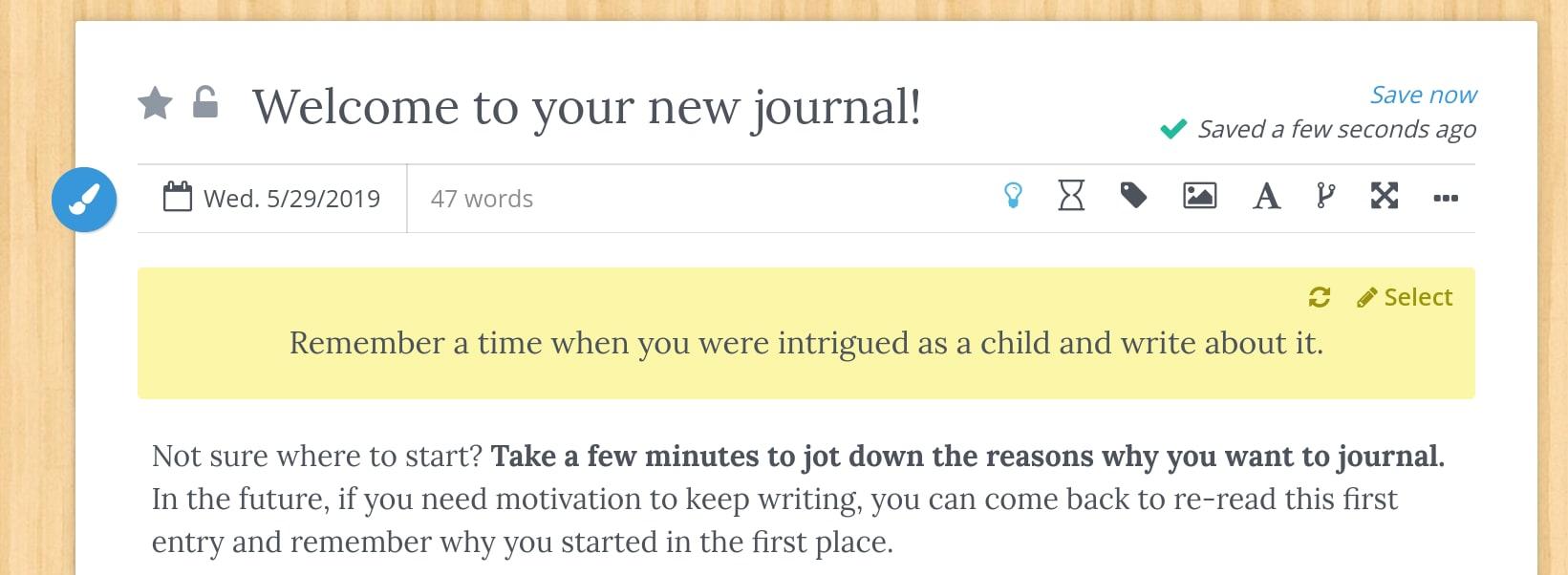 Penzu Journal Prompts