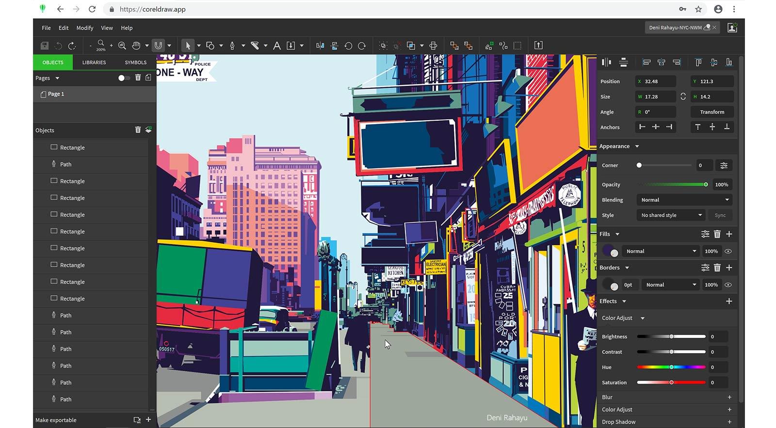 best photo editing software - coreldraw