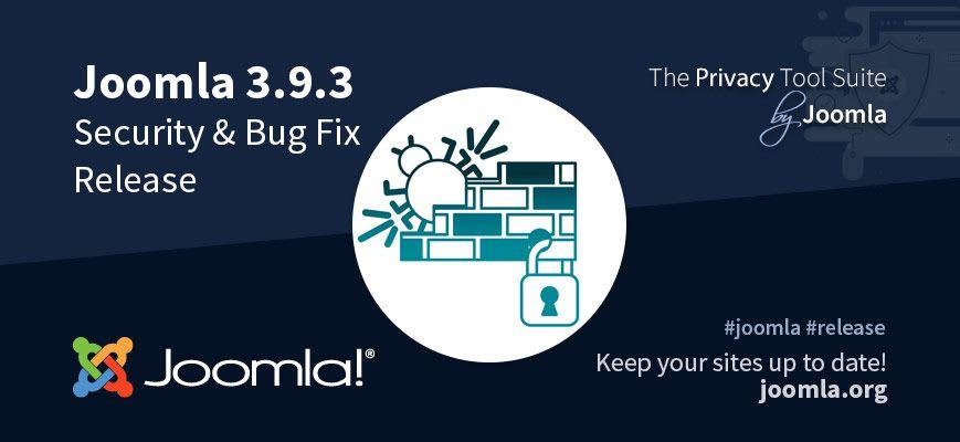Joomla 3.9.3 Released