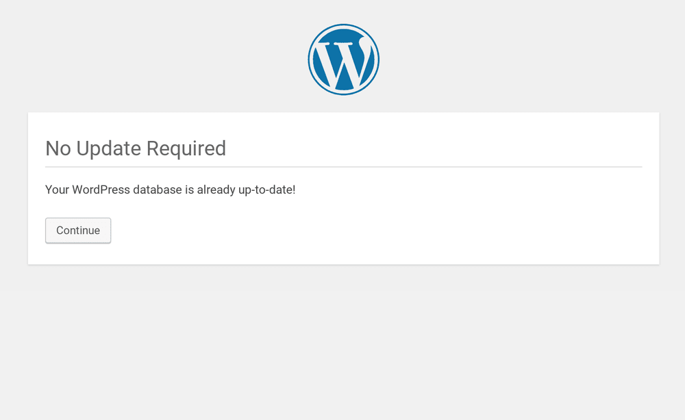 "WordPress 5.1 ""No Update Required"" Bug - We've got the Fix!"