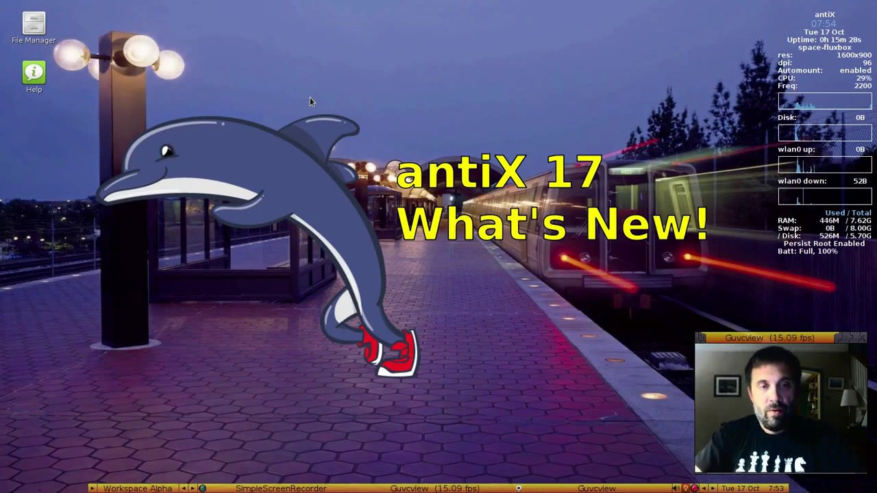 antiX 17.1 released