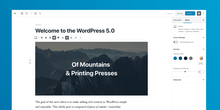 The first release candidate for WordPress 5.0 is now available (and sadly it brings Gutenberg with it).