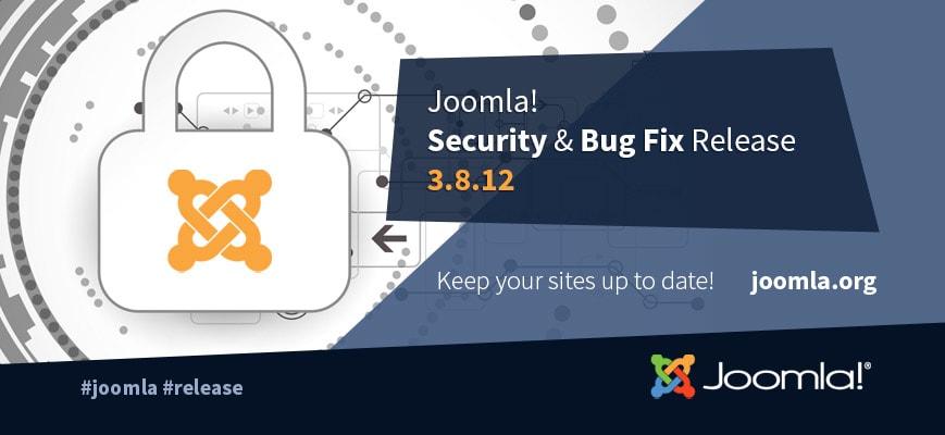 Joomla 3.8.12 Released