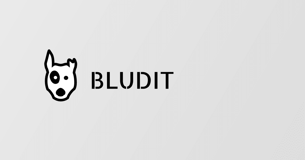 Bludit v2.3.3 Bug-fix Release Now Available