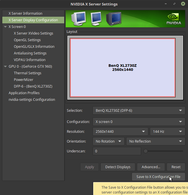 How to Fix NVIDIA Screen Tearing in XFCE, MATE, KDE, LXDE and others