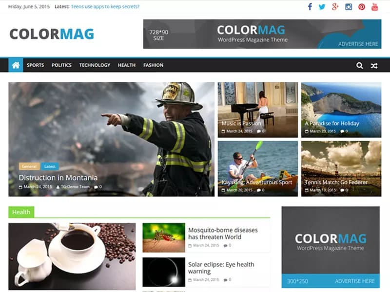 9 Great WordPress Themes for Blogging, Business & News Sites