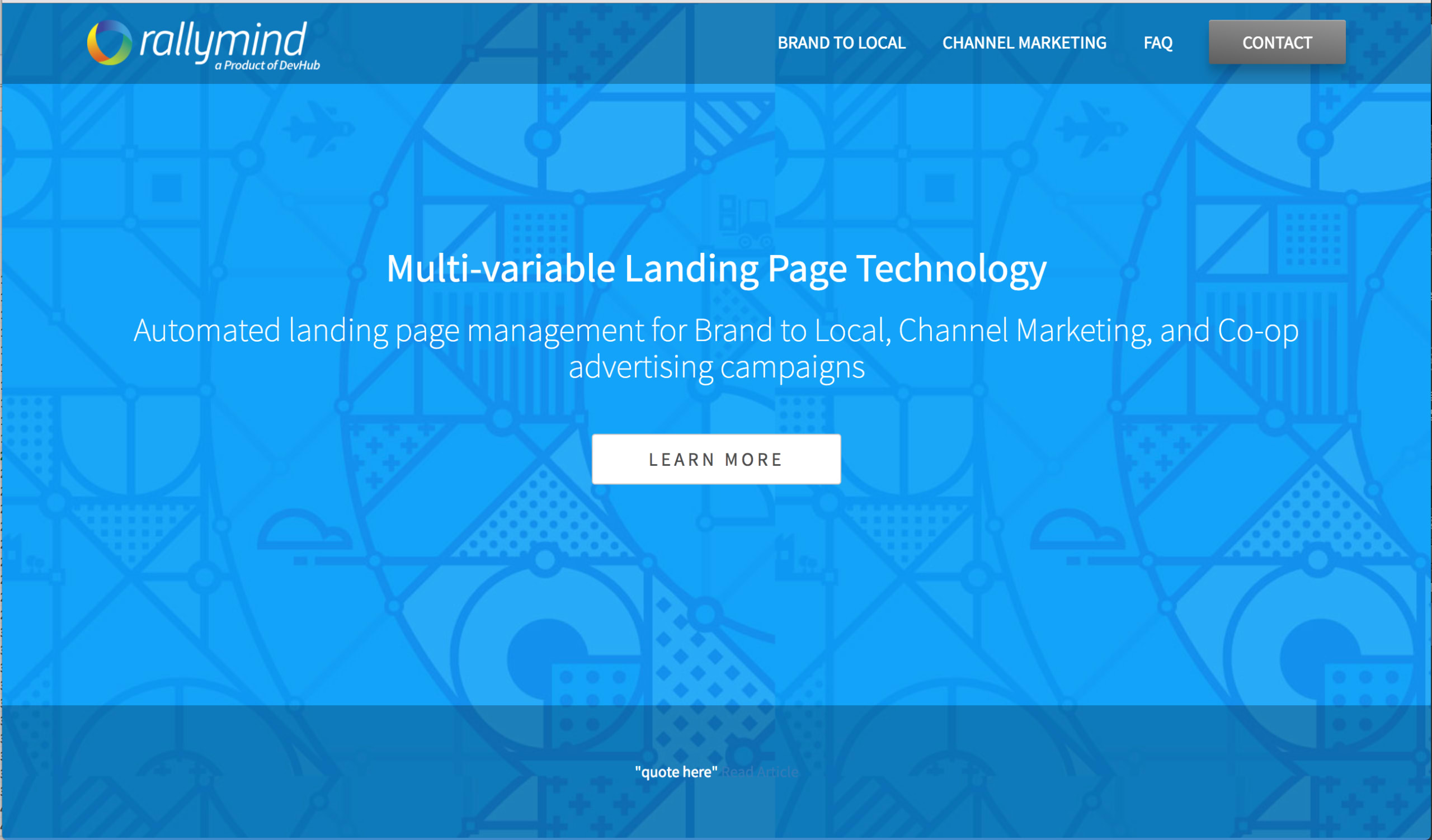 How Companies are Increasing ROIs with RallyMind's Landing Page Management Technology