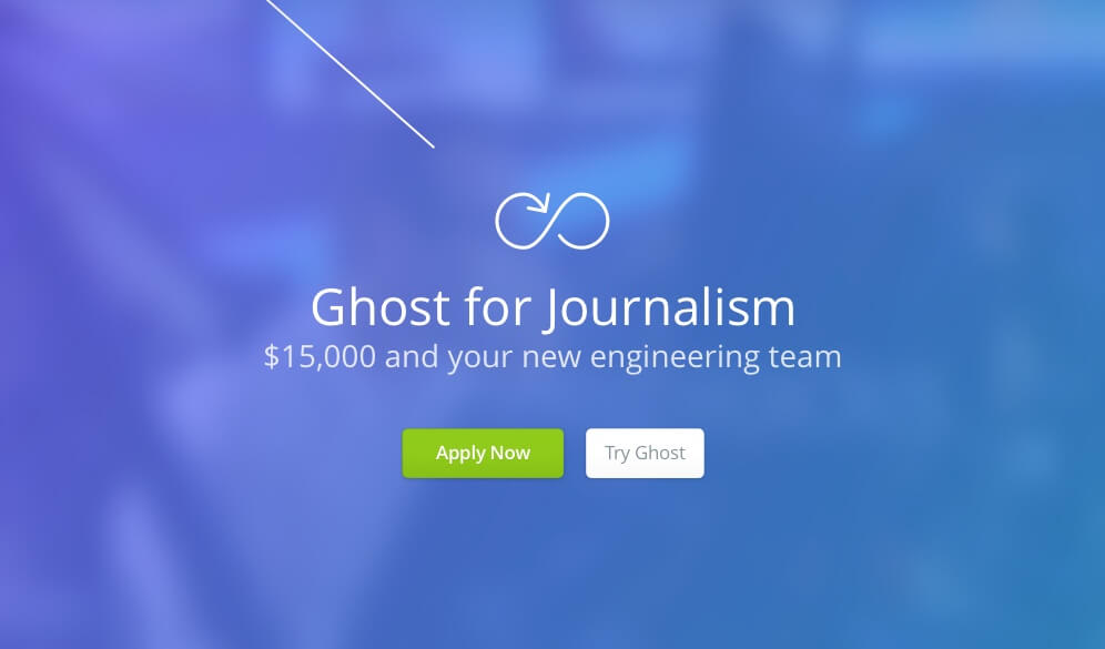 Ghost Announces Ghost for Journalism