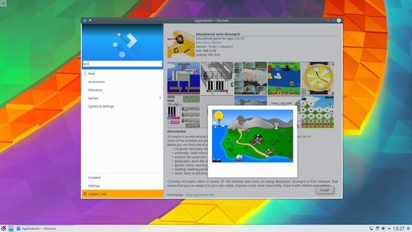 Plasma 5.8 LTS now available in KDE Neon