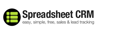 Spreadsheet CRM Review