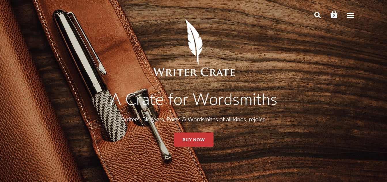 Writer Crate Launched