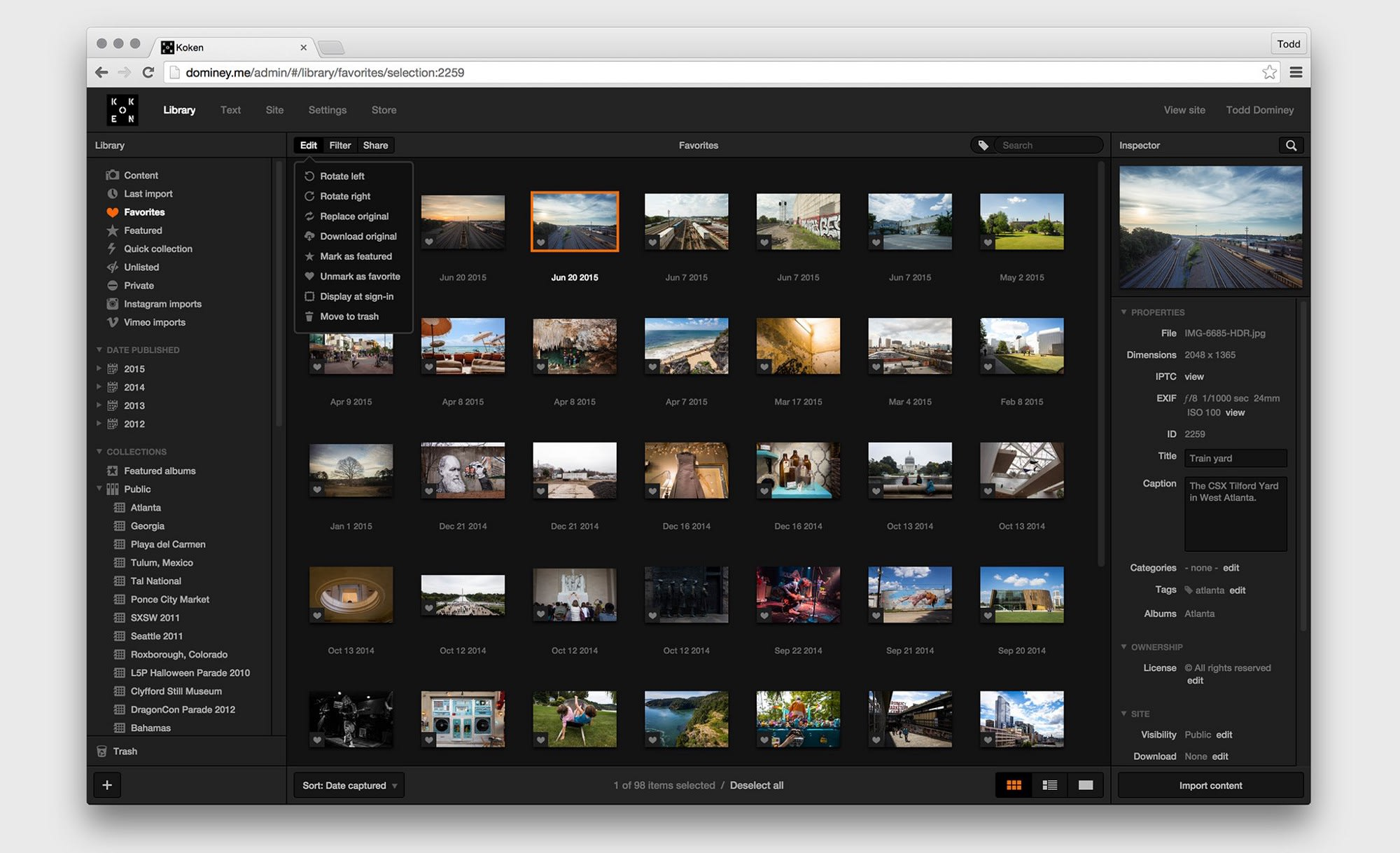 Koken, the Photography CMS goes up for sale as Co-Founders announce they want out