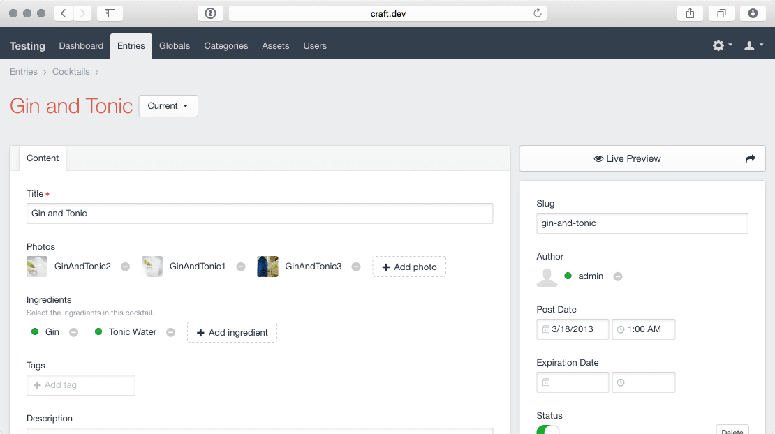 Craft CMS 2.4 - Chock full of Improvements and Additions