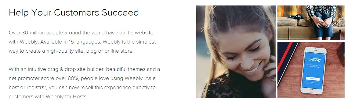 Introducing Weebly for Hosts
