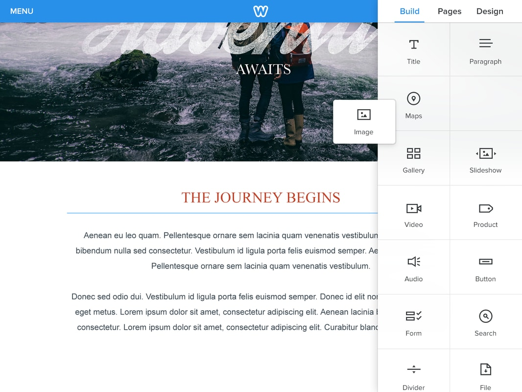 Weebly for iPad Goes Live
