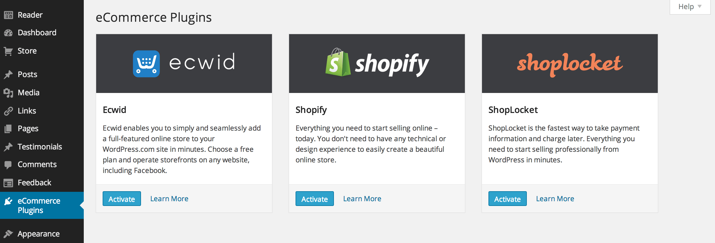 Ecommerce Integration Arrives for WordPress.com Business