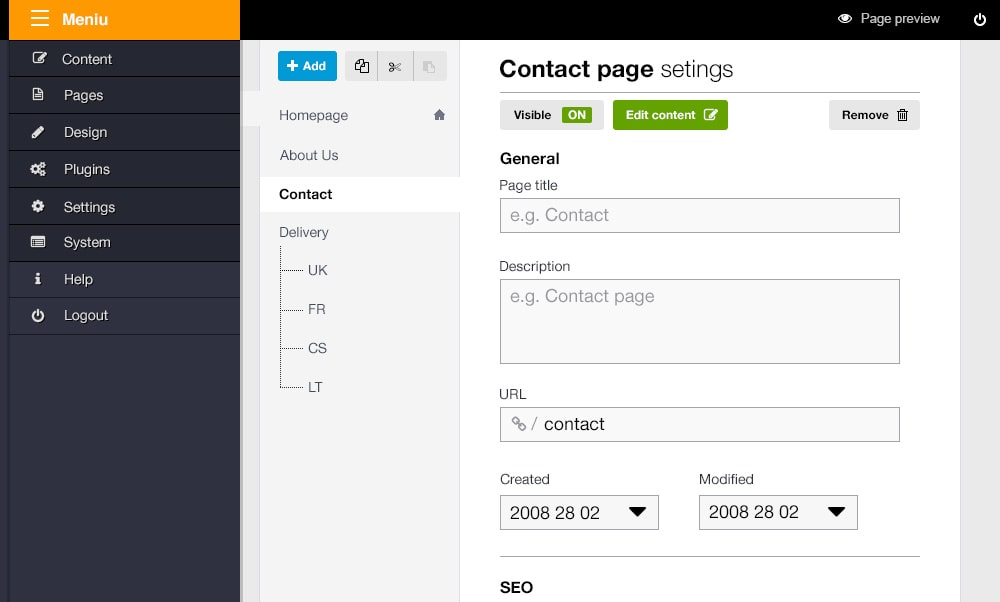 ImpressPages CMS 4.0 - Better Interface, New MVC Engine and ECommerce Support!
