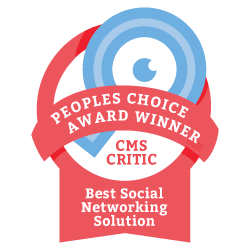2013 People's Choice Winner for Best Social Networking Solution