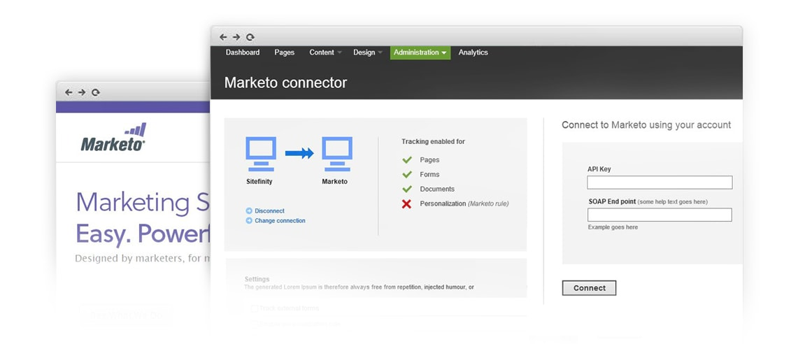 Telerik announces new connectors for Marketo and Salesforce.com